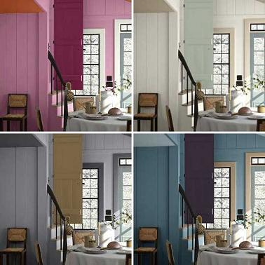 Decorar mi casa el color de las paredes vivir en totana - Simulador colores para pintar paredes ...