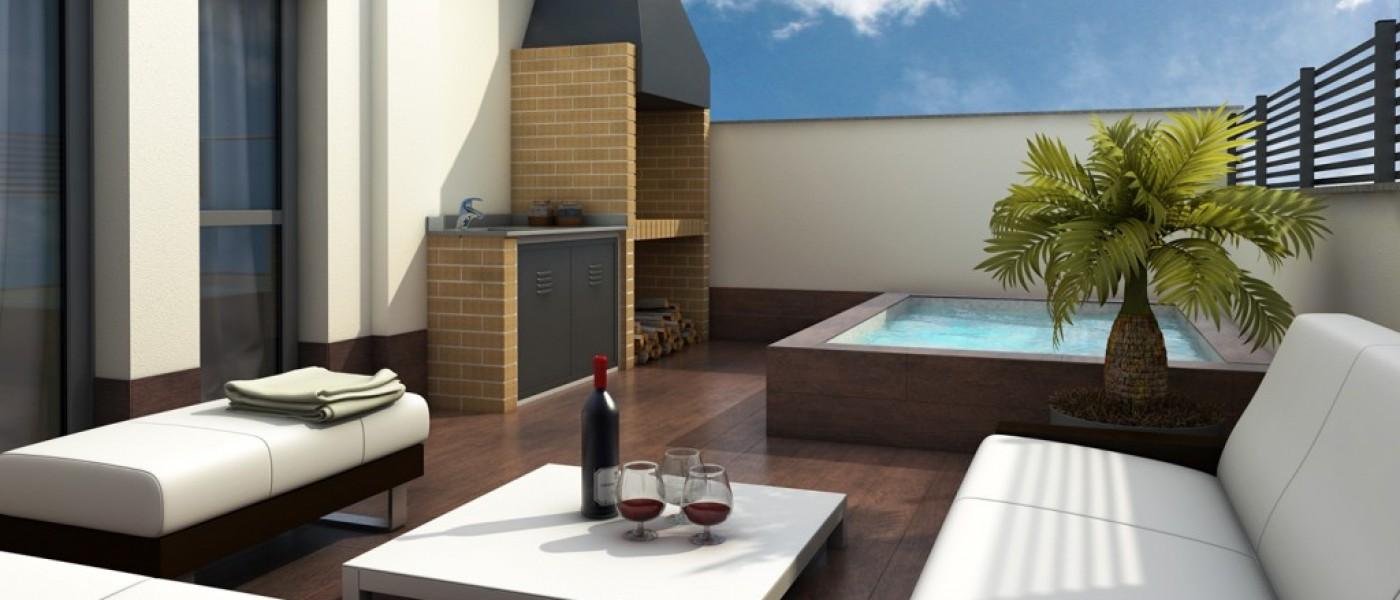 Ideas para decorar terraza atico dise os arquitect nicos for Decorar mi terraza