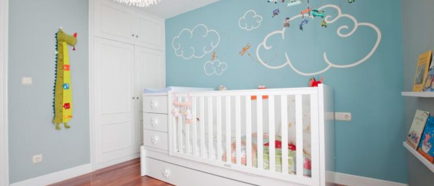 Habitaciones infantiles decoracion del cuarto del beb - Decoracion cuarto bebe ...