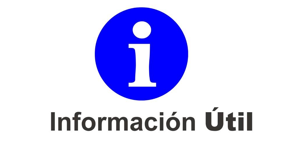 información útil