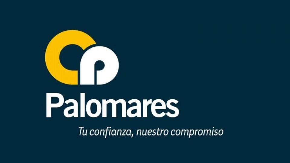 Logo Const. Hnos. Palomares SA